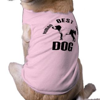Camiseta Melhor amigo do ser humano do cão