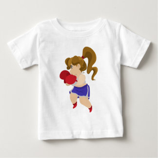 Camiseta Menina bonito do pugilista