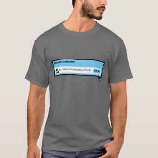 Camiseta Mensagem urgente!