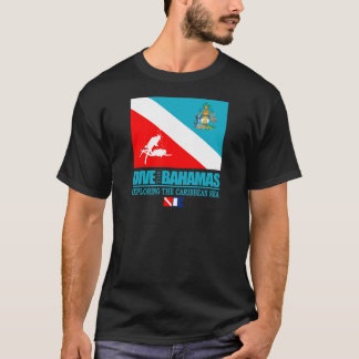 Camiseta Mergulha o roupa de Bahamas