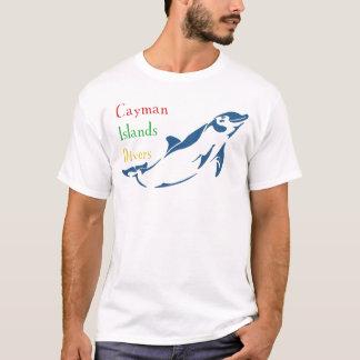 Camiseta Mergulhadores de Cayman Islands - golfinho (parte