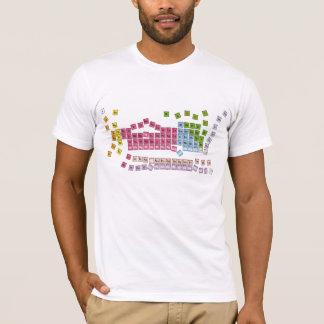Camiseta mesa periódica
