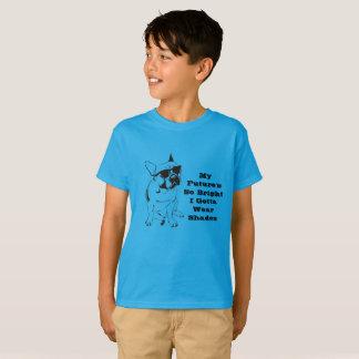 Camiseta Meu futuro tão brilhante eu consegui vestir