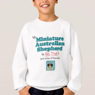Camiseta Meu pastor australiano diminuto é todo o isso!