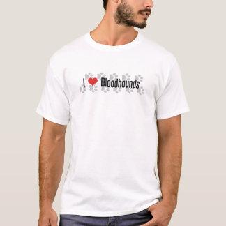 Camiseta Mim Bloodhounds (do coração)