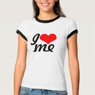 Camiseta Mim coração mim