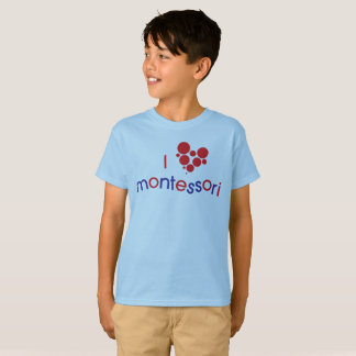 Camiseta Mim T da juventude de <3 Montessori