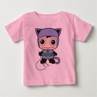 Camiseta Mini mulher do gato