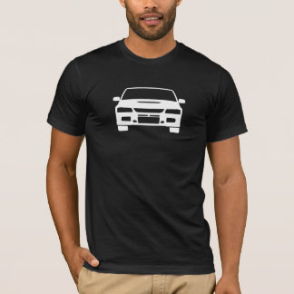Camiseta Mitsubishi Evo 8 homens claros gráficos