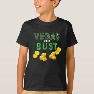 Camiseta Miúdos do humor do dólar de Vegas