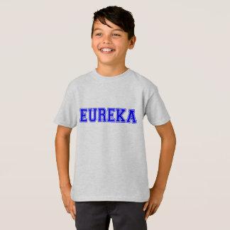 Camiseta miúdos legal Eureka-Engraçados da exclamação do