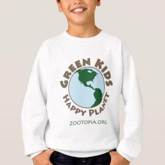 Camiseta Miúdos verdes, roupa feliz do planeta