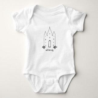 Camiseta moderno simples do templo de Salt Lake City Utá
