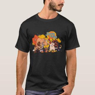 Camiseta Molde Looney & logotipo da mostra dos acordos