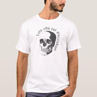 Camiseta Mori do discendum do est do vita de Tota