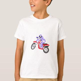 Camiseta Motocicleta abstrata