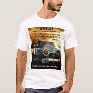 Camiseta Mude a tomada da posse