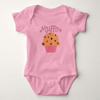 Camiseta Muffin de blueberry bonito do muffin