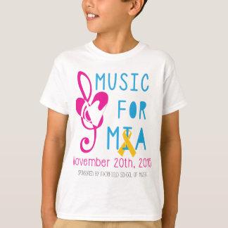 Camiseta Música para Mia
