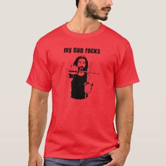 Camiseta My God Rocks