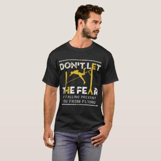 Camiseta Não deixe o medo da queda