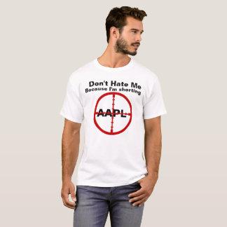 Camiseta Não me deie porque eu sou estoques Shorting