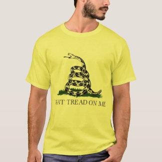 Camiseta Não pise em mim, tea party da bandeira de Gadsden