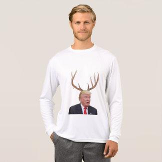 Camiseta Natal do trunfo: Sr. presidente dos cervos