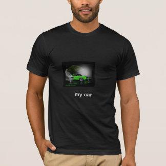 Camiseta nenhum meu carro