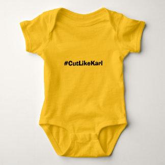 Camiseta Nenhuma etapa na ligação em ponte de bebê de Snek