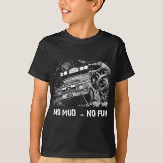 Camiseta Nenhuma lama - nenhum divertimento