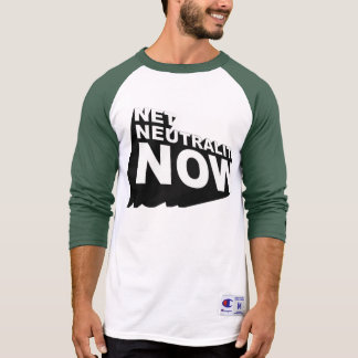 Camiseta Neutralidade 3D líquida corajosa agora