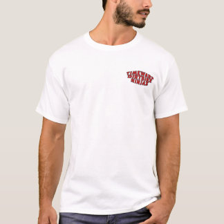 Camiseta ninja do dirtbike do timewarp