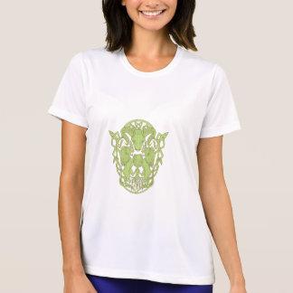 Camiseta Nó do céltico da brasão da árvore do leão dos