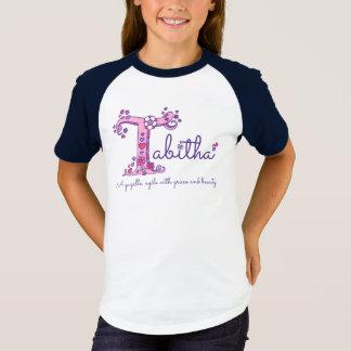 Camiseta Nome das meninas de Tabitha & significado da