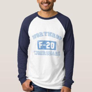 Camiseta Northrop F-20 Tigershark - AZUL