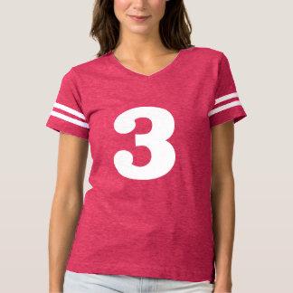 Camiseta Número elegante 3