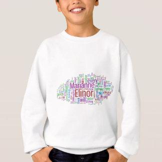 Camiseta Nuvem do sentido e da palavra da sensibilidade