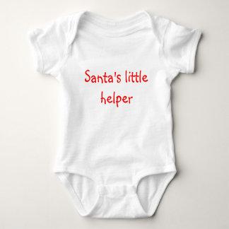 Camiseta O ajudante pequeno do papai noel
