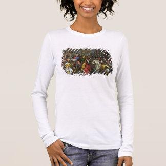 Camiseta O banquete do casamento em Cana, detalhe de