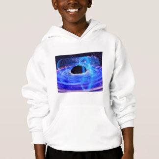 Camiseta O buraco negro azul da NASA