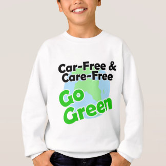 Camiseta o carro livre & o cuidado livram