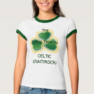 Camiseta O céltico Trevo-Personaliza - o costume… -