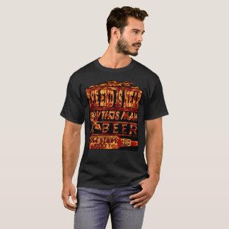 Camiseta O despedida de solteiro a extremidade é cerveja