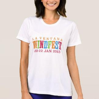 Camiseta O Esporte-Tek 2015 das mulheres de Ventana