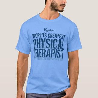 Camiseta O grande fisioterapeuta TS014 do mundo