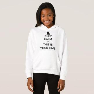 Camiseta O Hoodie da sua menina do tempo