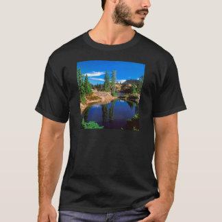 Camiseta O índigo do parque sonha lagos Wenatchee Rampart