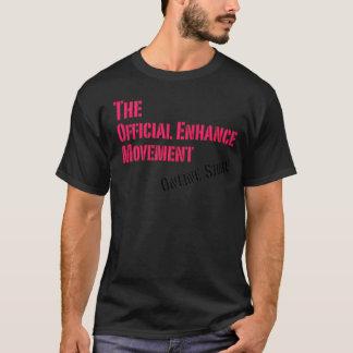 Camiseta O movimento da aumentação aumenta perto Du'Vera -