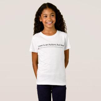 Camiseta O orgulho da menina de St Matthew